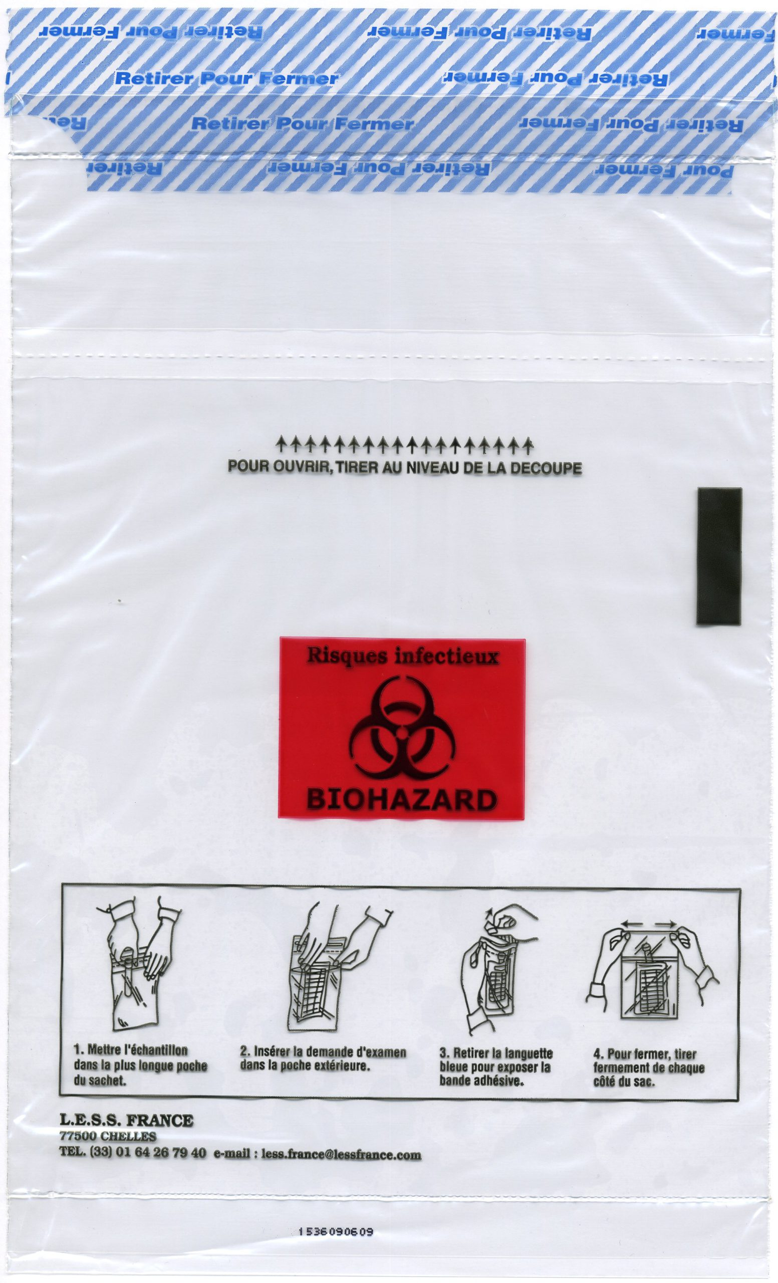 95600_INC sachets de prelevements Speci-Gard